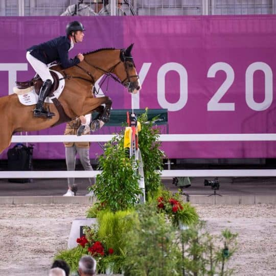 Scott Brash and Jefferson in Tuesday's individual qualifier
