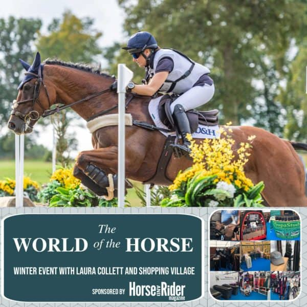 Winter Event with Laura Collett and shopping village - World of The Horse